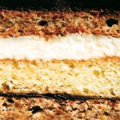 Sauce Magazine - Magnificent Marjolaine: Luscious layers of chocolate, cake and cream. Also known as Gateaux Marlolaine Cake Boss Recipes, My Recipes, Cooking Recipes, Buttermilk Dressing, Just Cakes, Pie Cake, Specialty Cakes, Cake Creations, Mini Cakes