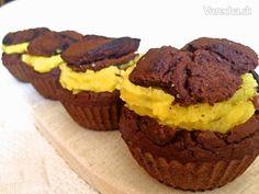 Fazuľové muffiny plnené Lemon Curdom