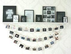 Imagem de photo, room, and black