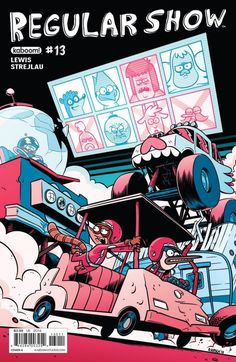 Regular Show #1-35 (2013-2016) | Comix4Free – Download Marvel, DC Comics, Anime…