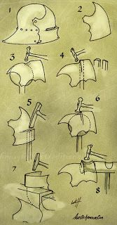 How to make armour: Making a Sallet Helmet