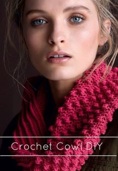 Beat cabin fever with free crochet patterns! Learn how to crochet  a crochet cowl for a chilly day!  | Crochet Cowl | Crochet Cowl Pattern | Crochet  Projects | Crochet Pattern