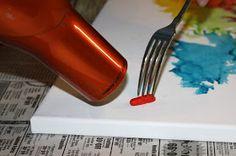 Adventures of a Middle Sister: DIY Crayon Canvas
