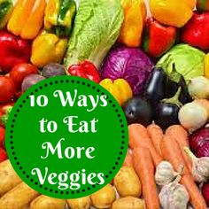 We all know we should eat more vegetables, but it's often tough to eat enough of them. Here are 10 ways to eat more Smoothie – eat a smoothie for breakfast or snack. Add a… Vegetable Snacks, Breakfast Smoothies, Healthy Options, Simple Way, Cucumber, Clean Eating, Lunch, Vegetables, Recipes