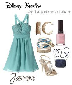 Disney Fashion:  Modern Jasmine Inspired Look from Target