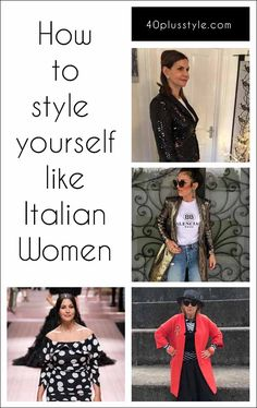 Italian fashion is among the best in the world. So, if you want to elevate your own style, how about trying these 15 tips from stylish Italian women? Womens Style Italian fashion: How to style yourself like Italian women Italian Women Style, Italian Chic, Italian Girls, Italian Fashion, Italian Beauty, Stilettos, Fashion Outfits, Womens Fashion, Outfits