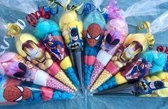 #superhero birthday party bags ideas