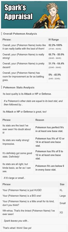 Yellow Team Instinct - Spark's Appraisals