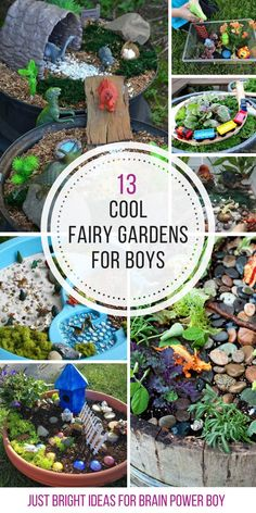 So many fun dinosaur garden ideas! Thanks for sharing!