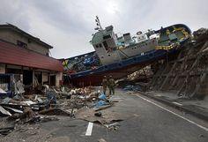 Japan Tsunami damage #Japan #Tsunami #damage