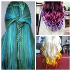How do you pick a favorite when you love them all? #haircolor #ombre #dipdye