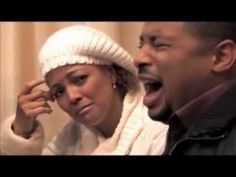 "Smokie Norful and Kim Fields.  Smokie sings ""I Thank You For My Life.""  Touching."