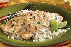 Red snapper is marinated in lime juice, tequila, cilantro and salad dressing mix, then grilled for a light and zesty entree.