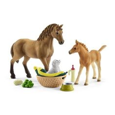 Toys & Hobbies Industrious My Little Pony Horse Figures Kids Play Set Hair Styling Animal Figure Set Matching In Colour