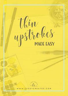 thin-upstrokes-brush-pen-calligraphy