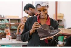 Fair trade shoes made in Ethiopia