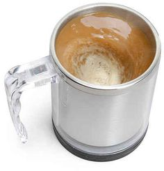 A self-stirring mug. | 22 Ingenious Products That Will Make Your Workday So Much Better