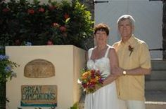 These folks opted for a villa ceremony