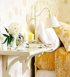 Shelf nightstand;