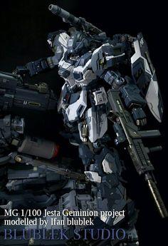 Custom Build: MG 1/100 Jesta [Geminion] - Gundam Kits Collection News and Reviews