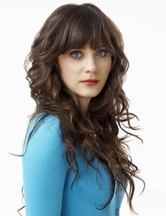 Zooey Deschanel. She's absolutely stunning.
