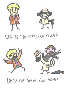 Run, Six! RUN! (Whoever thought of this was a genius. Bravo, you should get an I'm clever medal)