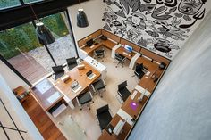 ♥ modern office 6 Balancing Comfort and Formality: Modern Matatena Offices in Mexico