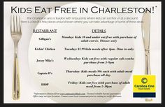 Charleston Cheap – Daily Food, Beverage and Attraction Deals | Charleston Daily