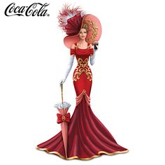 COCA-COLA Stylishly Smooth Figurine.