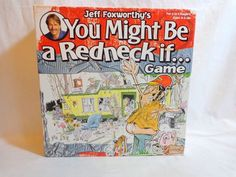 Jeff Foxworthy You Might Be a Redneck If Board Game 2006 Patch Complete  #Patch
