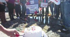 Detenidos por celebrar el primer aniversario de un bache en Naucalpán