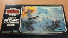 SOLD - NEVER OPENED !! 1980 ESB HOTH ICE PLANET ADVENTURE Game Still Sealed!
