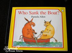 Book with activity for sink and float!