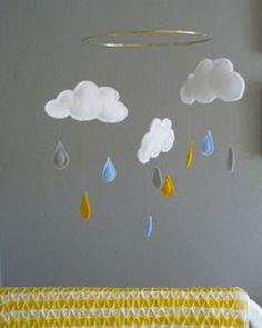 Shake My Blog   Une chambre d'enfant en gris et jaune