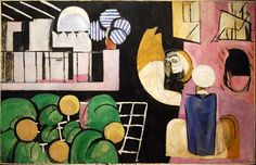 Henri Matisse. The Moroccans. 1916. Shared room color palette
