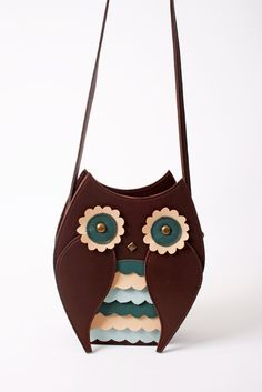 Mr owl purse by TitinaStore on Etsy, $48.00