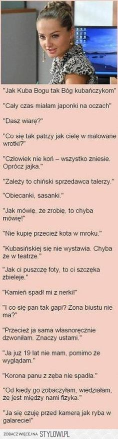 Stylowa kolekcja inspiracji z kategorii Humor Wtf Funny, Funny Cute, Funny Texts, Weekend Humor, Funny Thoughts, Man Humor, Quotations, Fun Facts, Haha