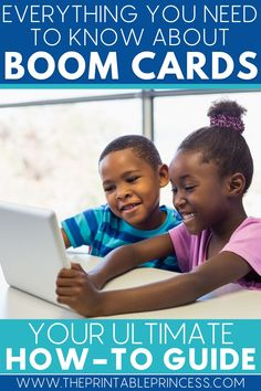 Is differentiation possible during virtual learning? Check out the ultimate guide to Boom Cards and learn how to use these engaging and interactive digital task cards with your students for whole group learning, small groups, centers, independent practice, review, assessment, and virtual learning. #boomcards #boomlearning #virtuallearning #distancelearning
