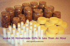 50 homemade gifts