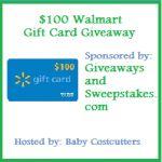 Giveaway Alert: Win $100 Walmart Gift Card (Open US/ Can)
