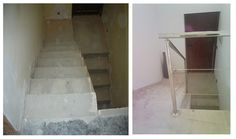 before/after staircase Tile Floor, Flooring, Texture, Crafts, Surface Finish, Manualidades, Tile Flooring, Wood Flooring, Handmade Crafts