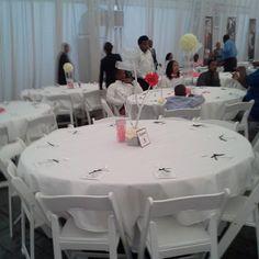 Center Piece & Decor Knot Me Event Planning Slidell,LA