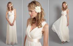 Bohemian Style Wedding Gown