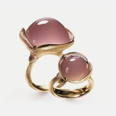 Ole Lynggaard rose pink gold Lotus Ring
