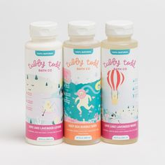 Tubby Todd Bath Co. offers three great all-natural products for a natural baby bath-time: Love Lake Lavender Wash, Deep Sea Bubble Bath, and Love Lake Lavender Lotion. Click though to learn more about these amazing products!