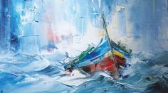 rough seas with boats - Google Search