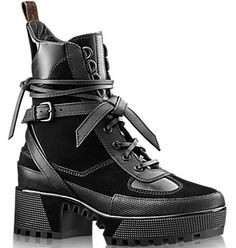 Louis Vuitton Palm Canyon Desert Boots as seen on Rita Ora Desert Boots, Bootie Boots, Shoe Boots, Ankle Boots, Shoe Bag, Lv Boots, Rock Boots, Calf Leather, Leather Shoes