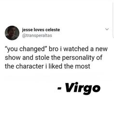 "Virgo AF | Astrology Memes on Instagram: ""Walk out of that movie feeling DIFFERENT different 🚶🏽‍♀️🚶🏽‍♀️🚶🏽‍♀️🎬 What show/movie is this for you??? 😂👌🏽👌🏽👌🏽 I always do this but the…"" Virgo Astrology, Zodiac Signs Virgo, Zodiac Star Signs, Sagittarius, Horoscope, Virgo Quotes Love, Virgo Love, True Quotes, Virgo Memes"
