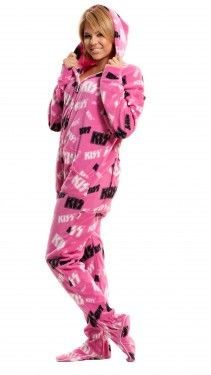 ac2de19a6a footed pjs - no need for that blanket on the couch  ) Adult Pajamas
