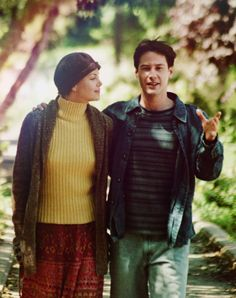 Charlize Theron and Keanu Reeves in Sweet November, 2001                                                                                                                                                                                 More
